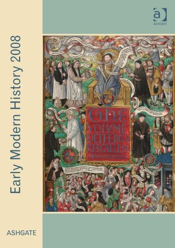 Early Modern History 2008 - Ashgate