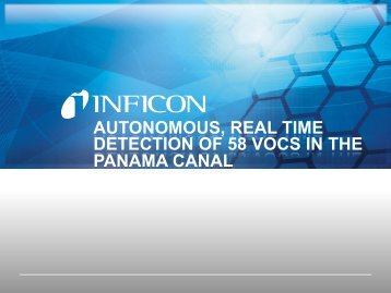 Detection of VOCs in Panama Canal - Pittconn 2017 - INFICON