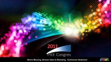 Benno Mensing, Director Sales & Marketing ... - FttH Platform