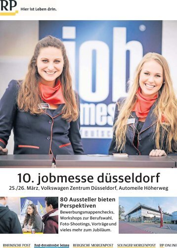 10. Jobmesse Düsseldorf