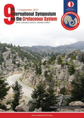 9th International Symposium on the Cretaceous System