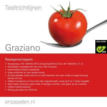 Teeltinformatie Graziano 2016