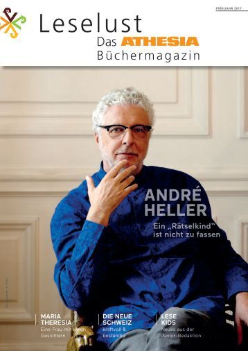 Leselust - Das Athesia Büchermagazin Frühjahr 2017