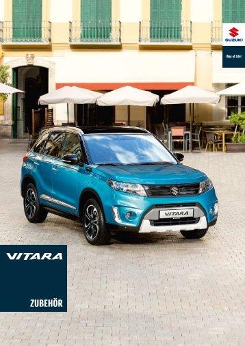 Suzuki VITARA Zubehörprospekt