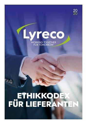 Lyreco Ethikrichtlinien für Lieferanten