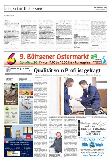 9. Büttgener Ostermarkt