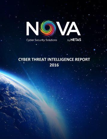 Netas Annual Cyber Intelligence Report 2016 v10
