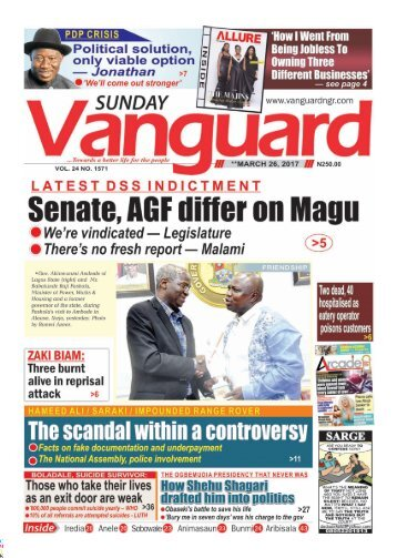 26032017: Senate, AGF differ on Magu