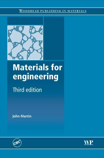 Materials for engineering, 3rd Edition - (Malestrom)