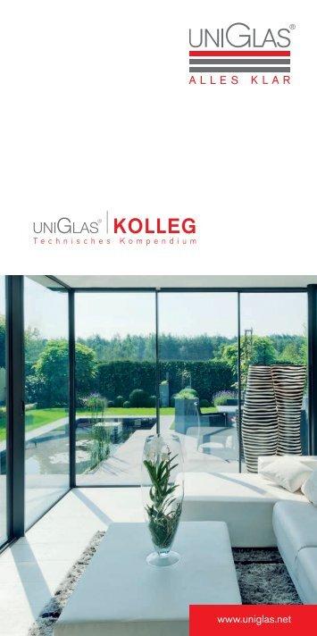 UNIGLAS technisches Kompendium - Infofolder