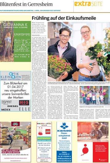 Blütenfest in Gerresheim