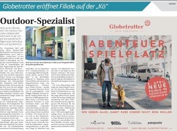 """Globetrotter eröffnet Filiale auf der """"Kö"""""""