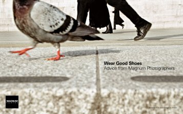 Advice from Magnum Photographers