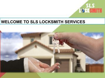 Welcome to SLS Locksmith Services