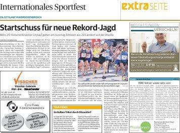 29. Citylauf in Korschenbroich