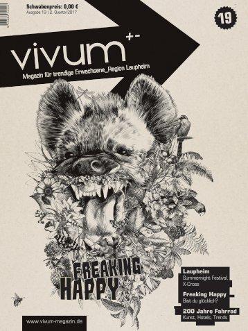 Vivum 19 | FREAKING HAPPY