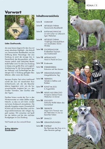 Zoo-Zeitung Duisburg
