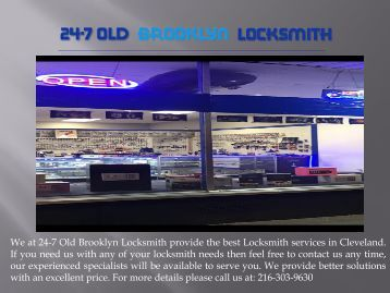 Commercial Locksmith Cleveland