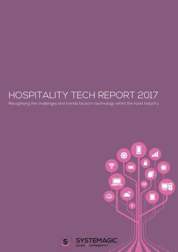 HOSPITALITY TECH REPORT 2017