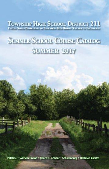 Summer School Course Catalog