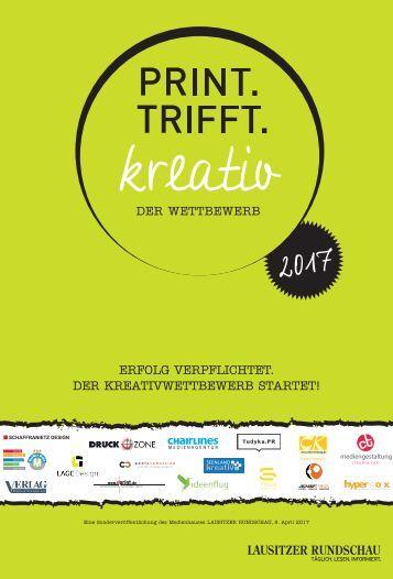 Print Trifft Kreativ Wettbewerb 2017