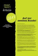 Print Trifft Kreativ Wettbewerb 2017 - Page 2