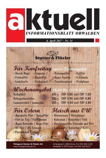Aktuell Obwalden 14-2017