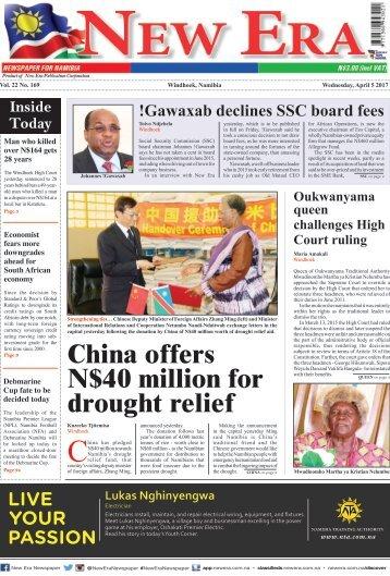 New Era Newspaper Vol22 No169