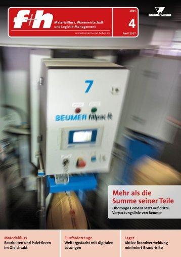 f+h fördern und heben 4/2017