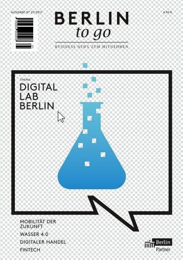 Berlin to go, Ausgabe 1.2017