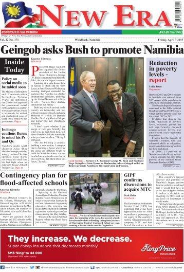 New Era Newspaper Vol22 No171
