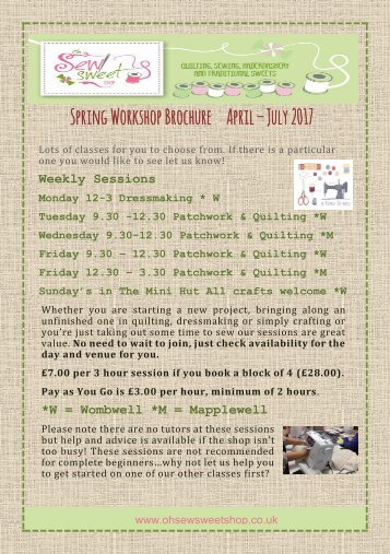 Spring 2017 Brochure Size Updated 5th April