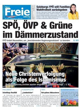 SPÖ, ÖVP & Grüne im Dämmerzustand
