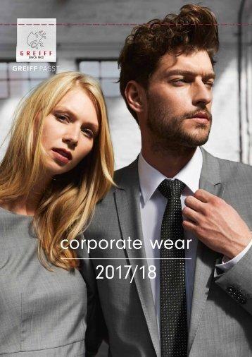 2017 Greiff Corporate Wear Exkusiv