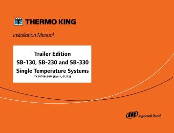 thermo king sb 310 manual