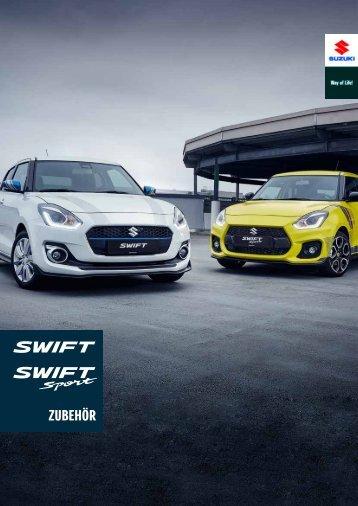 Suzuki SWIFT Zubehörprospekt