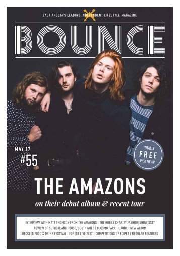 Bounce Magazine May Edition 2017
