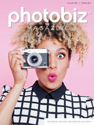 PhotoBiz Magazine // Spring 2017