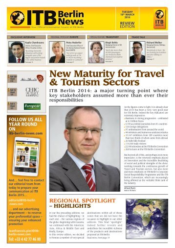ITB Berlin News Review Edition