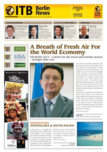 ITB Berlin News Preview Edition