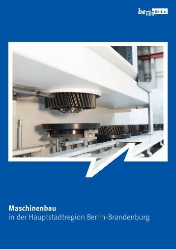 Maschinenbau in der Hauptstadtregion Berlin-Brandenburg