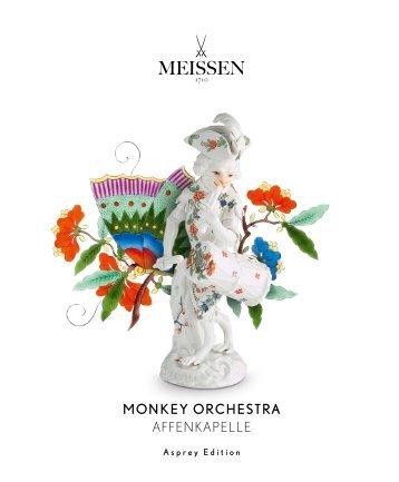MEISSEN Monkey Orchestra Asprey Edition