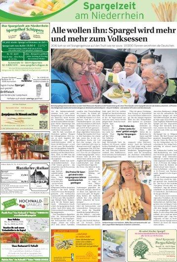 Spargelzeit am Niederrhein