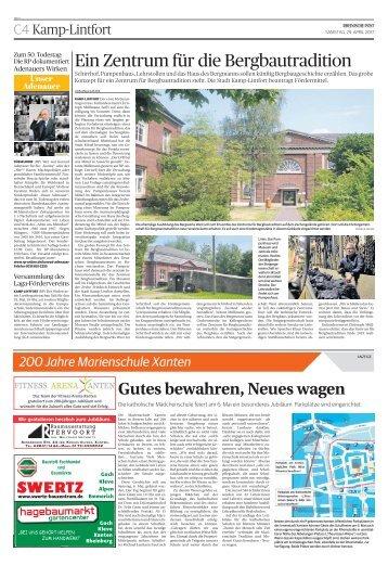 200 Jahre Marienschule Xanten
