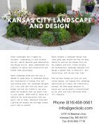 Kansas City Landscapers Gecko LC - Page 2