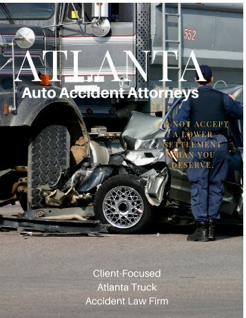 Auto Accident Attorneys Atlanta GA