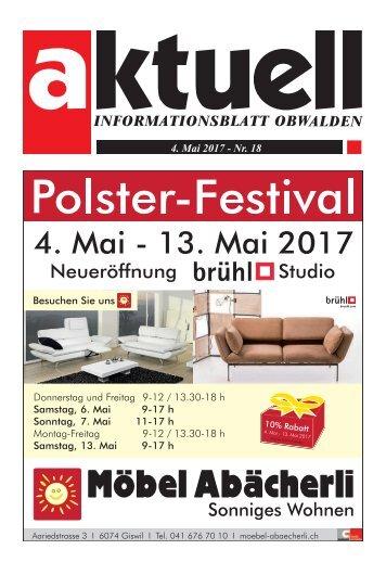 Aktuell Obwalden 18-2017