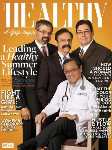 Healthy RGV Issue 102 - Leading a Healthy Summer Lifestyle