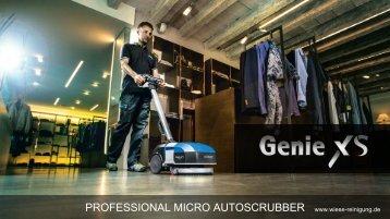 GENIE XS Micro Scheuersaugmaschine
