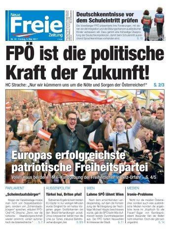 FPÖ ist die politische Kraft der Zukunft!